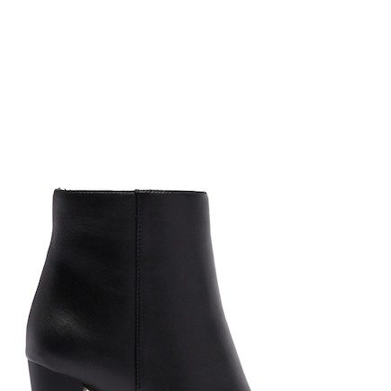 Enzo Angiolini Hadie Leather Block Heel Boot